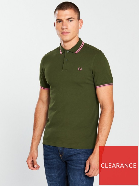 890b0a21 Fred Perry Twin Tipped Polo Shirt | very.co.uk