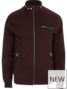 river-island-big-and-tall-nylon-racer-jacket
