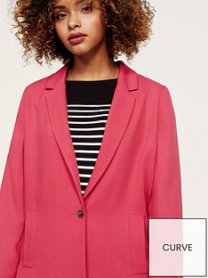 violeta-plus-size-blazer-cherry