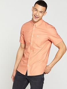 fred-perry-fred-perry-classic-short-sleeve-oxford-shirt