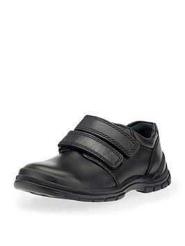 start-rite-boys-engineer-velcro-strap-school-shoe-black