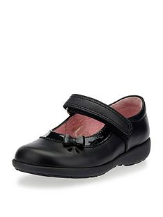 start-rite-girls-maria-velcro-strap-school-shoe-black