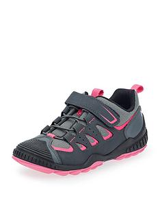 start-rite-charge-girls-lace-up-trainer-greypink