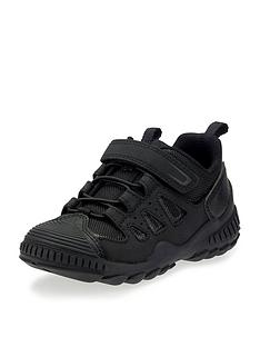 start-rite-boys-charge-lace-up-trainers-black