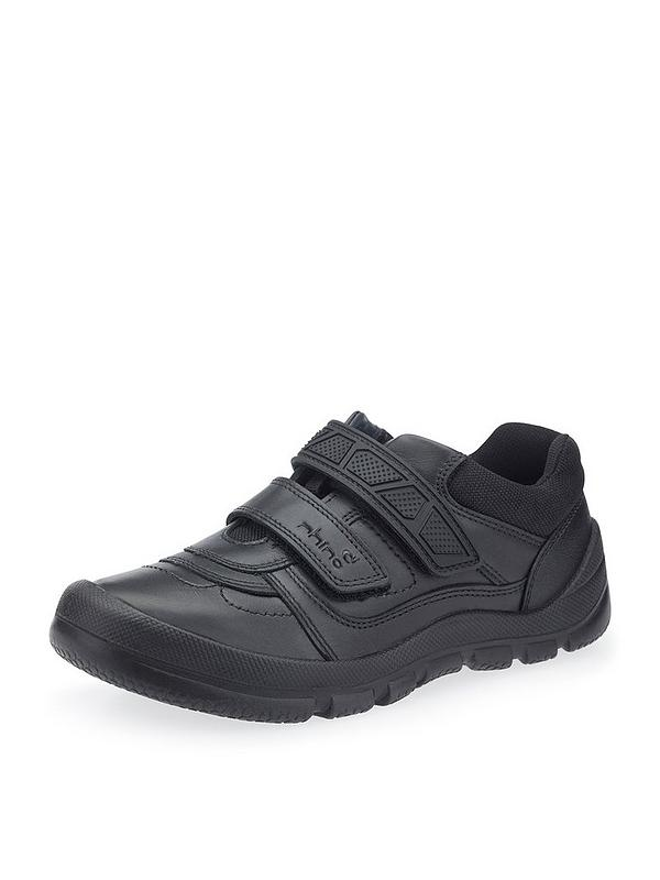 ae808f303dc23 Start-rite Rhino Warrior School Shoes - Black | very.co.uk