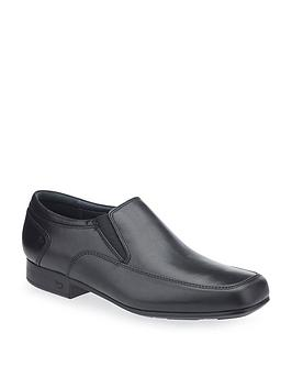start-rite-older-slip-on-tyler-school-shoes-black