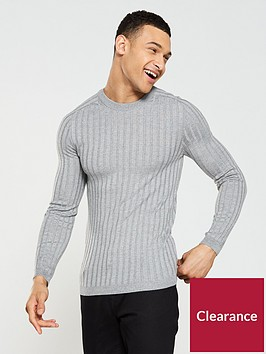 river-island-ls-clarke-knitted-jumper