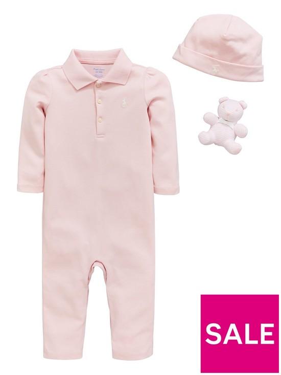 8 Of 9 Ralph Lauren Polo Baby Hat Boys S Beanie Crib Cotton 0 Layette