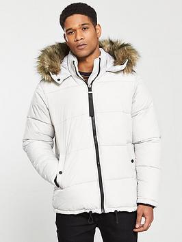 river-island-detachable-faux-fur-hood-padded-coat-light-grey