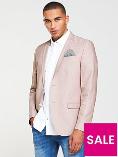 river-island-skinny-fit-oxford-blazer