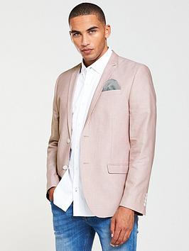 river-island-skinny-fit-oxford-blazer