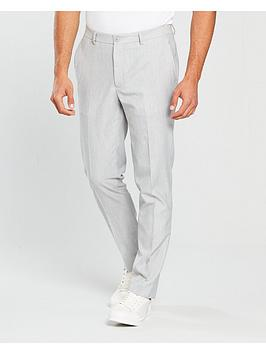 river-island-skinny-fit-smart-trouser-grey