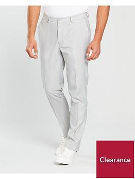 river-island-skinny-fit-smart-trouser-grey