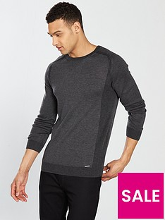 river-island-muscle-fit-crew-neck-jumper