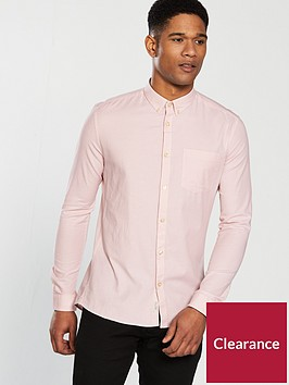 river-island-long-sleeve-oxford-shirt