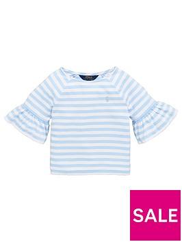 ralph-lauren-girls-stripe-frill-sleeve-top