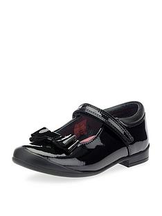 start-rite-girls-pussycat-bow-school-shoe-black