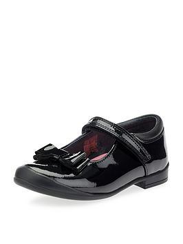 start-rite-girls-pussycat-bow-school-shoes-black