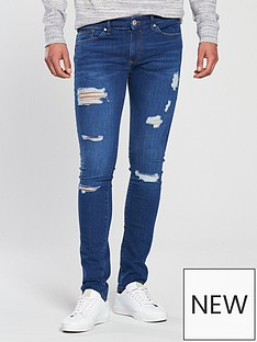 river-island-bryant-ripped-superskinny-jeans