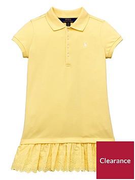 ralph-lauren-girls-lace-trim-polo-dress-yellow