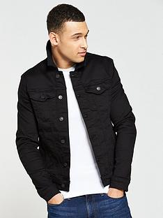 River Island Muscle Fit Denim Jacket