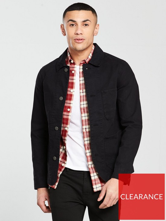 best value a489b 4dde6 Selected Homme Canvas Worker Jacket