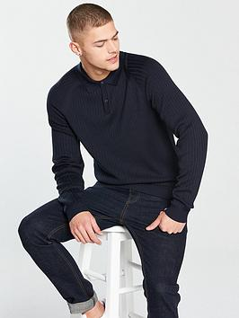 selected-homme-selected-homme-frank-ribbed-ls-knitted-polo