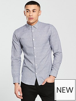 selected-homme-grid-textured-kris-shirt