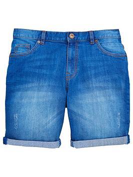 v-by-very-bright-blue-denim-short