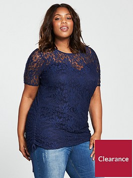 v-by-very-curve-curve-lace-ruched-detail-tunic