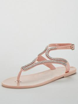 v-by-very-sparkle-embellished-toe-post-jelly-sandal-nude