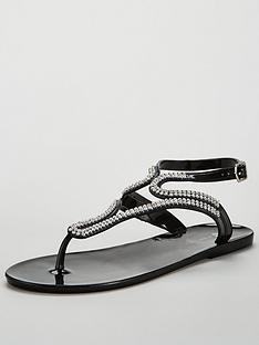 v-by-very-sparkle-embellished-toe-post-jelly-sandal-black