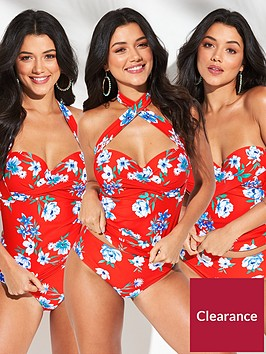 v-by-very-shapewear-multiway-underwired-twist-tankini-top-floral-print