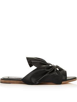 miista-pearl-embellished-bow-slides-black