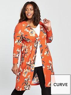 v-by-very-curve-longline-kimono-blouse-orange-print