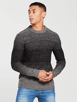 jack-jones-jack-amp-jones-originals-twin-knit-crew-neck-jumper