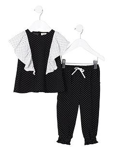 river-island-mini-girls-black-polka-dot-frill-top-outfit