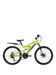 TRIBE Lithium 18 Speed Kids Steel Mountain Bike 24 inch Wheel