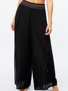 accessorize-sunset-smocked-wide-leg-trouser-black