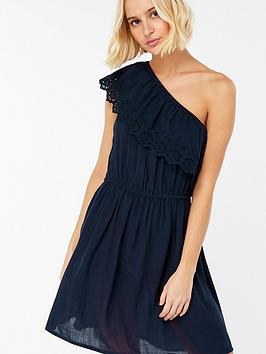 accessorize-asymmetric-off-shoulder-beach-dress-navy