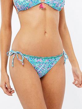 accessorize-mandala-print-bikini-brief-blue