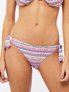 accessorize-stripe-embellished-tie-side-bikini-brief