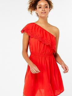 accessorize-asymmetric-off-shoulder-dress-rednbsp