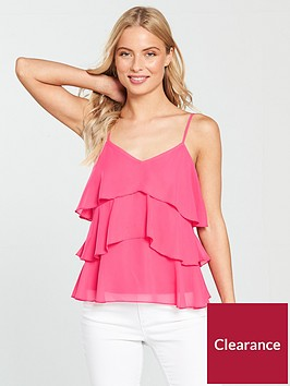 v-by-very-tiered-cami-topnbsp--fuchsia