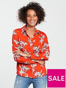 v-by-very-button-through-shirt-print
