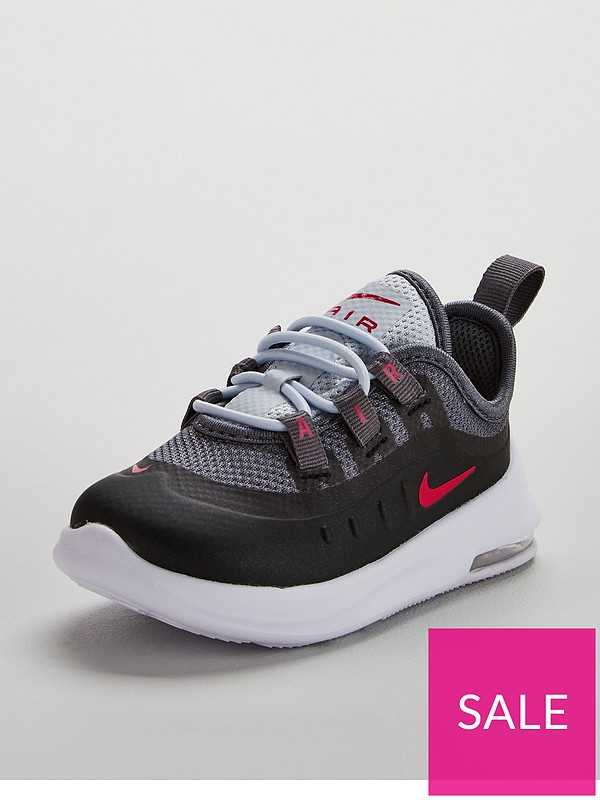 a757f2565d Nike Air Max Axis Infant Trainers - Black/Pink | very.co.uk