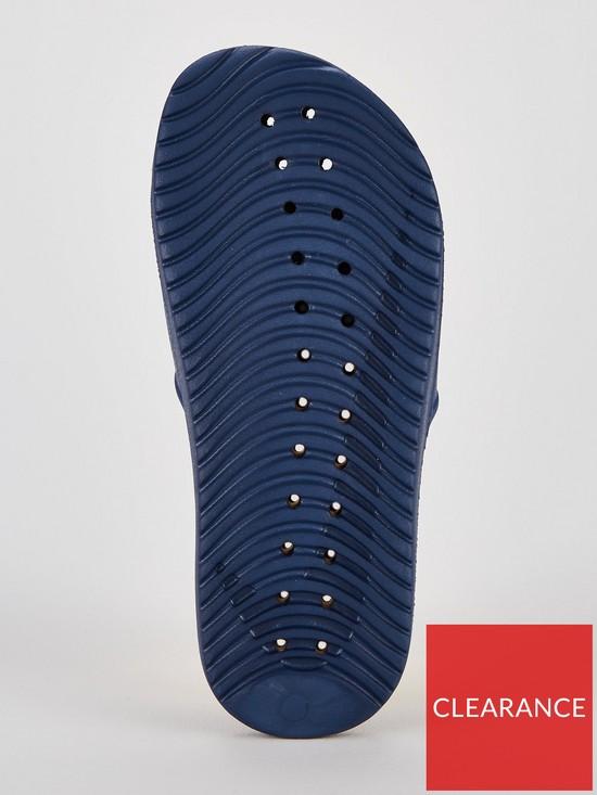 32a78f51e70a8 ... Nike Kawa Shower Junior Slider Sandals - Blue. View larger