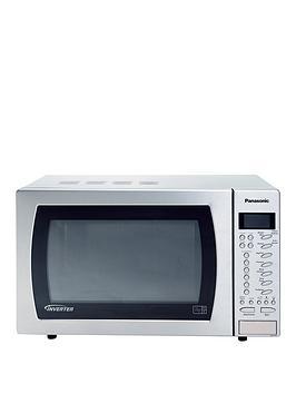 panasonic-27-litre-family-auto-sensor-microwave-nn-st479snbsp--stainless-steel