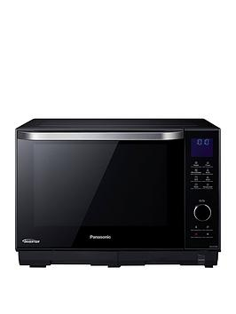 Panasonic 27-Litre Freestanding 4-In-1 Steam Combination Microwave, Oven &Amp; Grill Nn-Ds596Bbp thumbnail