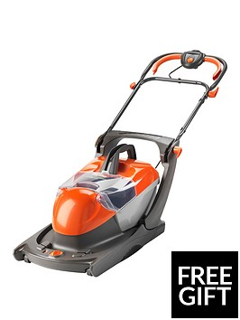 flymo-glider-compact-330vc-lawnmower-with-free-mini-trim